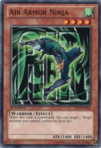 YuGiOh Star Pack 2013 Single Card SP13-EN016 Air Armor Ninja