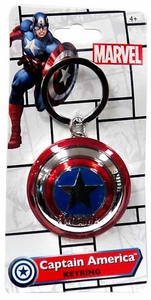 Monogram Marvel Pewter Keychain Captain America
