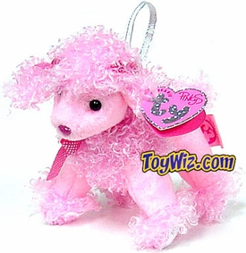Ty Beanie Baby Pinkys 2005 NY Toy Fair Exclusive Pinky Poo the Poodle Dog