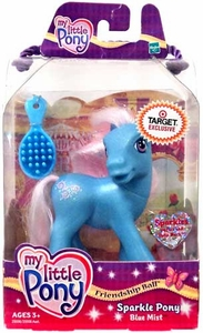 My Little Pony Exclusive Friendship Ball Sparkle Pony Blue Mist