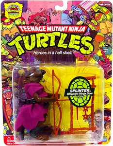 Teenage Mutant Ninja Turtles 25th Anniversary Action Figure Splinter