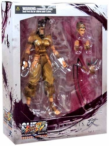 Super Street Fighter IV Square Enix Play Arts Kai Series 3 Action Figure Ibuki