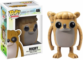 Funko POP! Regular Show Vinyl Figure Rigby New!