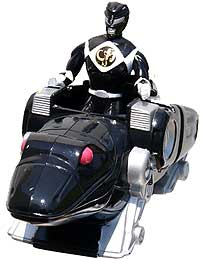 Mighty Morphin Power Rangers MOVIE McDonald's Happy Meal Black Ranger with Frog Ninjazord