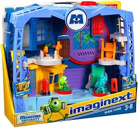 Disney / Pixar Monsters University Imaginext Playset Scare Floor [Factory]
