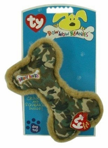 Ty Bow Wow Beanies Camoflage Bone (Large)