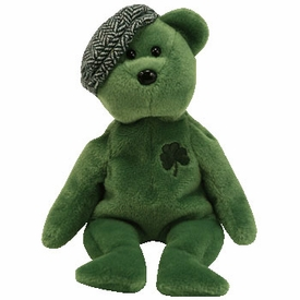 Ty March 2007 Beanie Baby of the Month Lot's O'Luck the Irish Bear