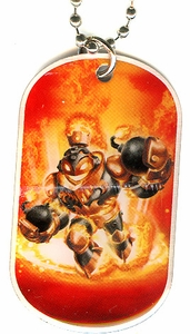 Topps Skylanders SWAP FORCE LOOSE Dog Tag Blast Zone [8 of 44]