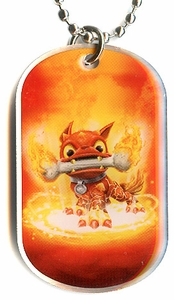 Topps Skylanders SWAP FORCE LOOSE Dog Tag Hot Dog [9 of 44]