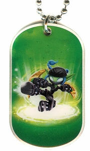 Topps Skylanders SWAP FORCE LOOSE Dog Tag Stealth Elf [10 of 44]