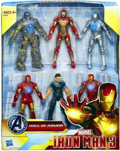 Iron Man 3 Action Figure Set Hall of Armor (Coming Soon)