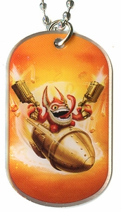 Topps Skylanders SWAP FORCE LOOSE Dog Tag Trigger Happy [15 of 44]