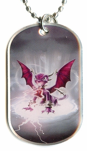 Topps Skylanders SWAP FORCE LOOSE Dog Tag Cynder [18 of 44]