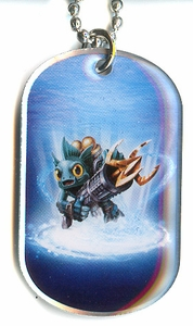 Topps Skylanders SWAP FORCE LOOSE Dog Tag Gill Grunt [22 of 44]