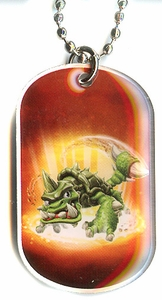 Topps Skylanders SWAP FORCE LOOSE Dog Tag Slubber Tooth [24 of 44]