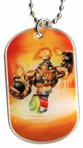 Topps Skylanders SWAP FORCE LOOSE Dog Tag Blast Charge [25 of 44]