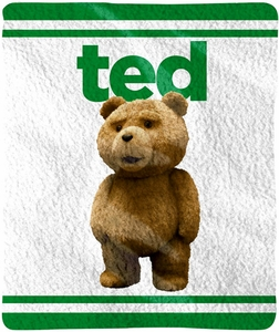 Ted Movie Fleece Throw Blanket