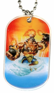 Topps Skylanders SWAP FORCE LOOSE Dog Tag Blast Ranger [28 of 44]