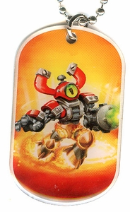 Topps Skylanders SWAP FORCE LOOSE Dog Tag Magna Zone [29 of 44]