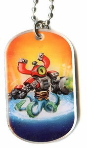 Topps Skylanders SWAP FORCE LOOSE Dog Tag Magna Buckler [30 of 44]