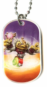 Topps Skylanders SWAP FORCE LOOSE Dog Tag Hoot Charge [37 of 44]