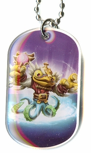 Topps Skylanders SWAP FORCE LOOSE Dog Tag Hoot Buckler [38 of 44]