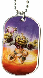 Topps Skylanders SWAP FORCE LOOSE Dog Tag Hoot Zone [39 of 44]