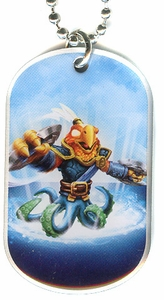 Topps Skylanders SWAP FORCE LOOSE Dog Tag Free Buckler [42 of 44]