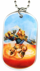 Topps Skylanders SWAP FORCE LOOSE Dog Tag Free Zone [43 of 44]