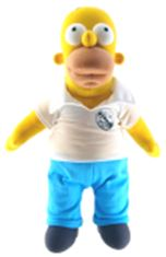 Simpsons 25th Anniversary 24 Inch Plush Homer Pre-Order ships March