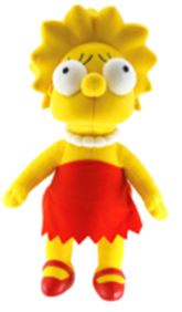 Simpsons 25th Anniversary 24 Inch Plush Lisa Pre-Order ships March