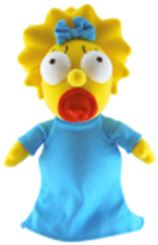 Simpsons 25th Anniversary 24 Inch Plush Maggie Pre-Order ships March