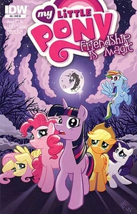 My Little Pony Friendship Is Magic Comic Book #6 Retailer Incentive Cover