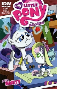 My Little Pony Micro-Series Featuring Rarity Comic Book #3 Retailer Incentive Cover
