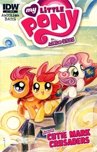My Little Pony Micro-Series Featuring Cutie Mark Crusaders Comic Book #7 Retailer Incentive Cover