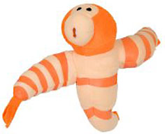 Cloudy with a Chance of Meatballs 2 Medium Plush Shrimpanzees BLOWOUT SALE!
