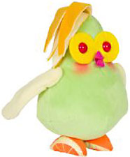 Cloudy with a Chance of Meatballs 2 Medium Plush Fruit Cockatiels BLOWOUT SALE!