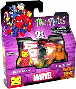 Diamond Select Marvel Minimates Best of Series 1 Mini Figure 2-Pack Iron Man & Thing