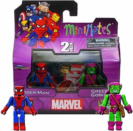 Diamond Select Marvel Minimates Best of Series 1 Mini Figure 2-Pack Spider Man & Green Goblin
