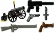 LEGO Loose Minifigure Parts Modern Weapons
