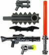 LEGO Loose Minifigure Parts Sci-Fi Weapons