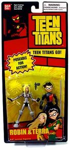 Teen Titans 3.5 Inch Action Figure 2-Pack Robin & Terra
