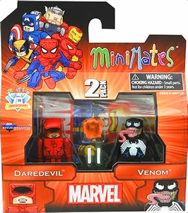Diamond Select Marvel Minimates Best of Series 2 Mini Figure 2-Pack Daredevil & Venom