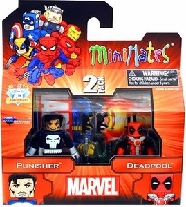 Diamond Select Marvel Minimates Best of Series 2 Mini Figure 2-Pack Punisher & Deadpool