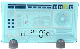 Eclipse Grafx Custom Custum LOOSE Accessory Big Screen HUD Blue
