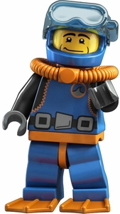 LEGO Minifigure Collection Series 1 LOOSE Mini Figure Deep Sea Diver
