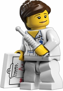 LEGO Minifigure Collection Series 1 LOOSE Mini Figure Nurse
