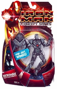 Iron Man Movie Action Figure Stealth Striker Armor Iron Man