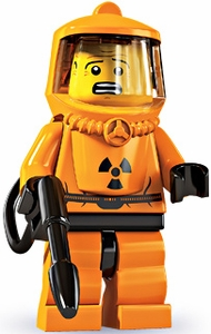 LEGO Minifigure Collection Series 4 LOOSE Mini Figure Hazmat Guy
