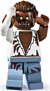 LEGO Minifigure Collection Series 4 LOOSE Mini Figure Werewolf